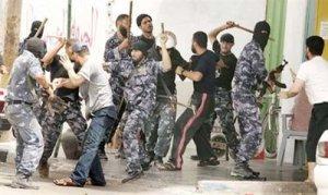 Scontri tra uomini di Fatah e uomini di Hamas (Settembre 2008)